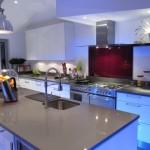 Blue LED Kitchen