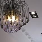 Chandelier & LED Downlights